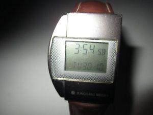 【送料無料】腕時計 ウォッチ junghans mega 1 radio digital reloj de reloj de 34 mm de los aos 70