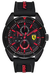 【送料無料】腕時計 ウォッチ マルチスクーデリアフェラーリアラームフォルツァscuderia ferrari reloj de hombre con multi funcin forza 0830547