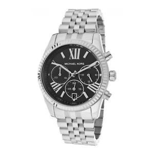 【送料無料】腕時計 ウォッチ ミハエルシルバーブラックnuevo michael kors mk5708 bradshaw mujer plata negro reloj de lujo vendedor gb