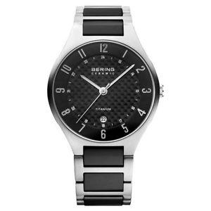【送料無料】腕時計 ウォッチ ベーリングローズアラームウルトラスリムチタンタイタンbering seores reloj reloj de pulsera titanio ultra slim 11739702 titan