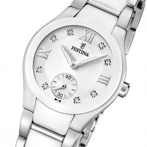 腕時計 ウォッチ オロロジオテンポorologio solo tempo donna festina in acciaio f165882
