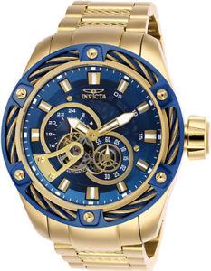 腕時計 ウォッチ ボルトクロノグラフステンレススチールinvicta hombre bolt crongrafo automtico chapado en oro reloj acero inoxidable