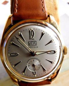 【送料無料】腕時計 ウォッチ レディースumf ruhla przisa kalibm2 34 mm seores reloj de pulsera 1950 w nuevo manecillas 1a