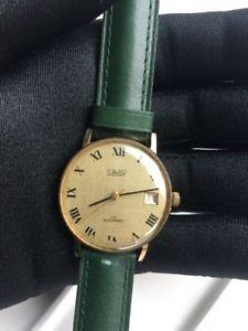 【送料無料】腕時計 ウォッチ サヴォイヴィンテージアラームベルトsavoy automatic vintage watch reloj 32,5 mm automaticos correa nueva