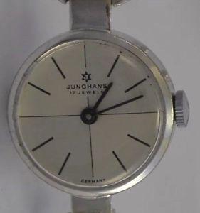 【送料無料】腕時計 ウォッチ シルバードイツjunghans 17 jewels fantastico835 platafuncionanmade in germany