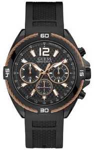 【送料無料】腕時計 ウォッチ アラームブラックguess reloj negro para hombre starp negro con w1168g3 relojes 11