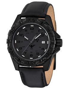 【送料無料】腕時計 ウォッチ アラームkhs reloj hombre reaper xtac con cuero negro khs rext l