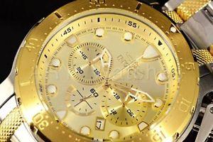 【送料無料】腕時計 ウォッチ フィールド26499 invicta 52mm coalition fuerzas color dorado esfera 2 ss reloj de pulsera