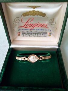 【送料無料】腕時計 ウォッチ ビンテージlongines , vintage montre or 14 k