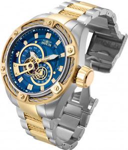 腕時計 ウォッチ クロノメーターボルトメートルスチールアラームinvicta hombres perno automtico cronmetro 100m dos tonos reloj acero