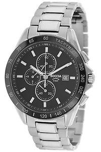 【送料無料】腕時計 ウォッチ タイタンクロノグラフアラームクロノboccia titan chronograph reloj hombre chrono 375102