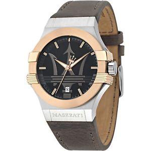 【送料無料】腕時計 ウォッチ マセラティマセラティブラウンベルトポテンザmaserati r8851108014 hombres correa marrn potenza reloj de pulsera