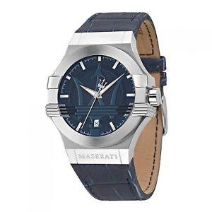 【送料無料】腕時計 ウォッチ マセラティマセラティストラップポテンザmaserati r8851108015 men correa azul potenza reloj de pulsera