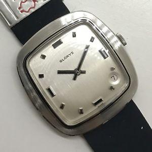 【送料無料】腕時計 ウォッチ ビンテージ8719 vintage watch glorys mai indossato nos 33mm carica manuale
