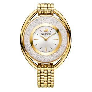 【送料無料】腕時計 ウォッチ レディースゴールドスワロフスキーnuevo genuino seoras reloj de oro swarovski 5200339 crytaline ovalgaranta
