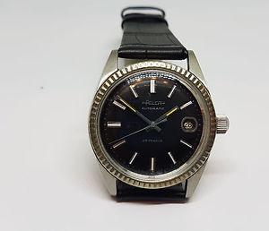【送料無料】腕時計 ウォッチ ビンテージrara vintage felca esfera negra fecha reloj de hombre automtico 25 joyas