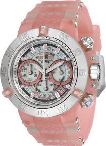 【送料無料】腕時計 ウォッチ クロノグラフシリコンスチールプラスチックアラームinvicta mujer subaqua crongrafo de cuarzo 200m s acero siliconaplstico reloj