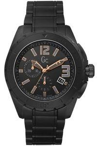 【送料無料】腕時計 ウォッチ セラミックブラックアウトクロックnuevo guess gc x76009g2s para hombre xxl color negro apagn de cermica reloj 2 aos de garanta