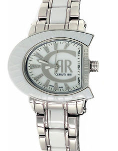 【送料無料】腕時計 ウォッチ トーンスイスホワイトcerruti 1881 reloj de plata en dos tonos y blanco cermica hecho en suiza