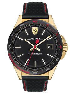 【送料無料】腕時計 ウォッチ スクーデリアフェラーリマニュアルコントロールscuderia ferrari reloj de pulsera para hombre pilota 0830490