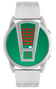 【送料無料】腕時計 ウォッチ ワイヤーグリーンナイツステンレススチールstorm razar lazer green 47407lg caballeros led de acero inoxidable reloj nuevo
