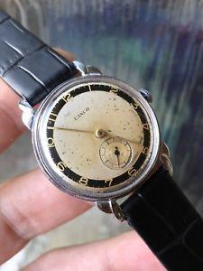【送料無料】腕時計 ウォッチ エリアファンシーラグアラーム1940s reloj para hombres esfera bicolor lanco fancy lugs