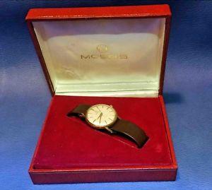 【送料無料】腕時計 ウォッチ ゴールドミクロンビンテージスイスハンドブックウォッチwatch moeris gold filled 20 microns vintage swiss made orologio manual
