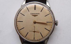 【送料無料】腕時計 ウォッチ ロンジンバイヴィンテージアラームreloj longines, 35mm reloj de pulsera, vintage reloj hombre