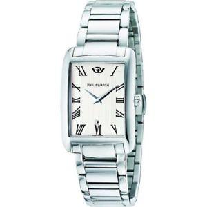 腕時計 ウォッチ フィリップトラファルガースイスクラシコphilip watch orologio quadrato uomo trafalgar r8253174002 acciaio swiss classico