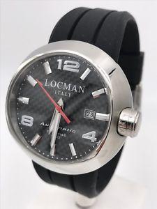 腕時計 ウォッチ アラームブレスレットスチールreloj locman automtico 425an acero 3 pulseras 46mm gran descuento