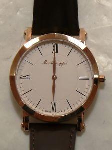 【送料無料】腕時計 ウォッチ マンゴールドピンクmontegrappa nerouno ajustado para hombre reloj de oro rosa, blanco idnmwarw nuevo