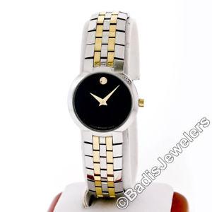 【送料無料】腕時計 ウォッチ エリアゴールデントーンステンレススチールブレスレットmovado negro museo esfera tono dorado amp; brazalete de acero reloj pulsera