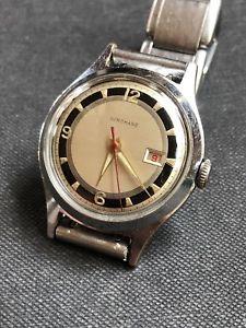 【送料無料】腕時計 ウォッチ マンビンテージアラームjunghans bicolor cal 931 reloj para hombre vintage