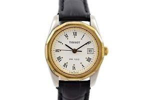 【送料無料】腕時計 ウォッチ ビンテージティソステンレスレディースローマスチールクォーツvintage tissot pr100 acero inoxidable cuarzo reloj de damas 314 cuadrante romano