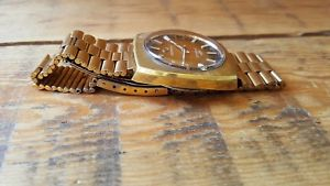 腕時計 ウォッチ レトロブランドreloj pulsera edicin limitada de caballero retro chapado en oro certina certronic