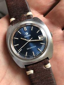 腕時計 ウォッチ スチールマニュアルビンテージローマーブランドシーロックアラーム