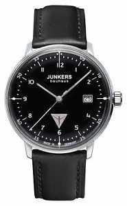 【送料無料】腕時計 ウォッチ ブラックレザーストラップメンズスフィアjunkers mens esfera de color negro correa de cuero 60462 relojes