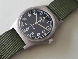 【送料無料】腕時計 ウォッチ イギリスreloj de pulsera vintage 1985 militar britnica cwc fat boy de tamao medio cuarzo