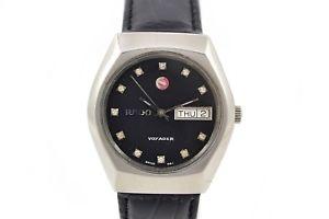 【送料無料】腕時計 ウォッチ ビンテージボイジャーステンレススチールマンアラームvintage rado voyager automtico de acero inoxidable reloj de hombre 162