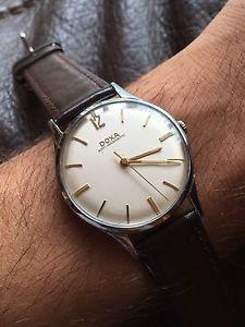 【送料無料】腕時計 ウォッチ スイスドクサアラームドレスケース1960s doxa suizo reloj vestir hombre 34,9mm estuche