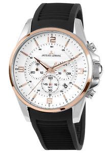 【送料無料】腕時計 ウォッチ ジャックルマンアラームクロノグラフリバプールクロノjacques lemans bicolor reloj hombre crongrafo liverpool chrono 11799d