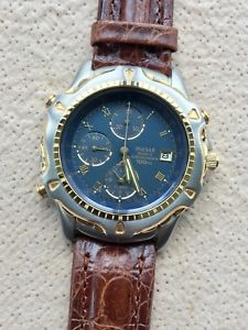 chronograph mm ウォッチ watch pulsar 40 reloj nuevo 【送料無料】腕時計 vintage クロノグラフヴィンテージアラームメートルnos 100 mt