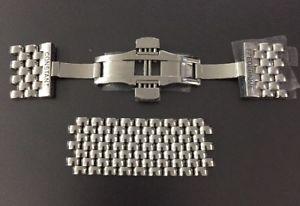 【送料無料】腕時計 ウォッチ アラームステンレスリンクgenuine frederique constant reloj de acero inoxidable cierre enlaces 20 mm