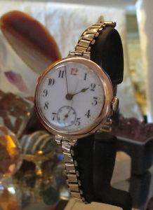 【送料無料】腕時計 ウォッチ スイスビンテージゴールドreloj pulsera vintage 9 ct oro detener bonklip hecho en suiza