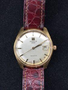 【送料無料】腕時計 ウォッチ ティソヴィンテージアラームロープミリtissot seastar manual cuerda vintage reloj watch funciona 34mm