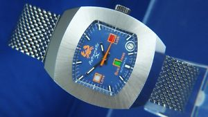 【送料無料】腕時計 ウォッチ スイスビンテージnos vintage astromatic x signo cncer reloj automtico suizo bf 158 1970s