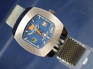 【送料無料】腕時計 ウォッチ ビンテージスイスnos vintage destinax astromatic aries reloj automtico suizo bf 158 1970s