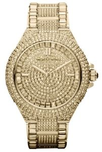 【送料無料】腕時計 ウォッチ レディースゴールドミハエルカミーユクロックnuevas damas de oro mk5720 michael kors camille glitz reloj 2 aos de garanta