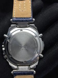 腕時計 ウォッチ クロノグラフクロノアラームカレンダーウォッチlotus 9631 chronograph chrono reloj watch calendar nos nuevo 40,5mm