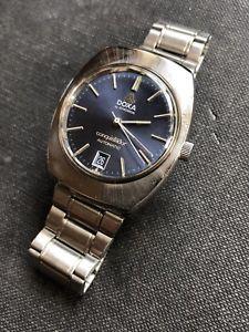 【送料無料】腕時計 ウォッチ ドクサアラームスチール1970s doxa synchron conquistador acero automtico para hombre reloj 34,5mm